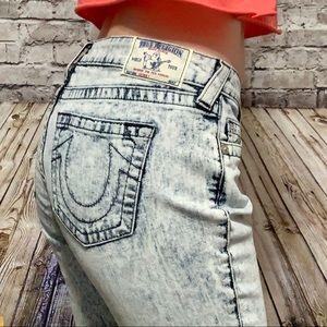 🆕TRUE RELIGION Skinny Jeans ACID WASH Size 31‼️